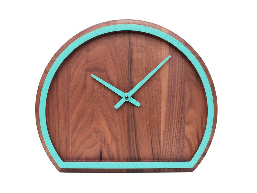Table-top walnut clock MADERA | Walnut clock - Otono Design