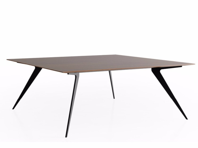 Wooden meeting table MADISON MEETING | Square meeting table - JOSE MARTINEZ MEDINA