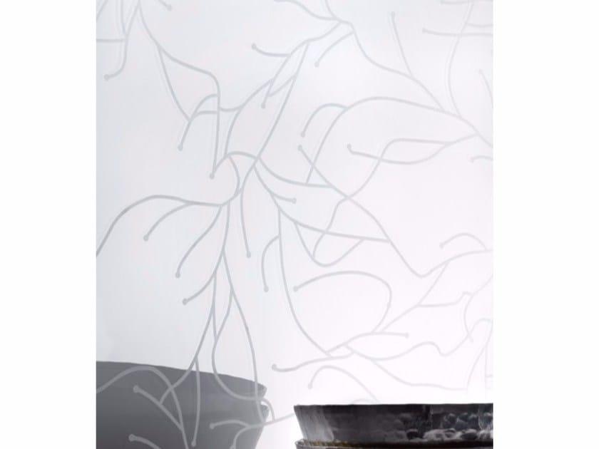 Painted decorative glass MADRAS® IRAMI RS LAC - Vitrealspecchi