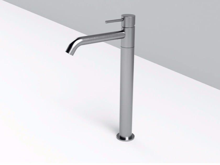 Countertop single handle stainless steel washbasin mixer MAE | Washbasin mixer by Rexa Design