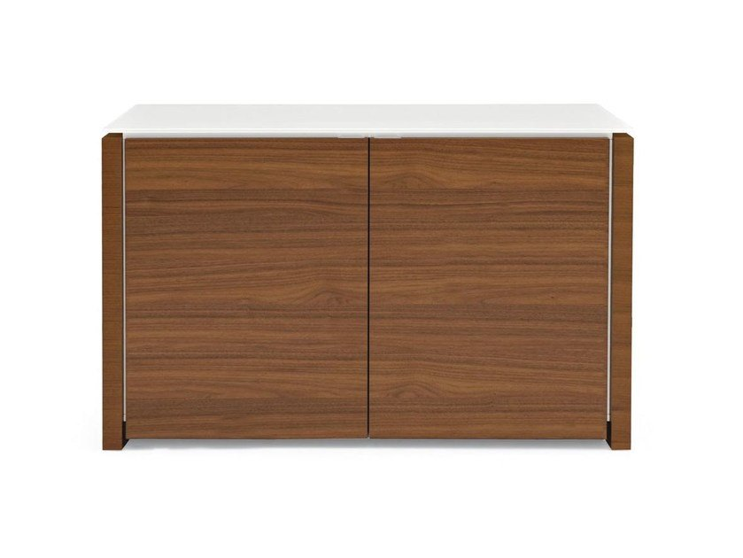 Lacquered highboard with doors MAG | Highboard by Calligaris
