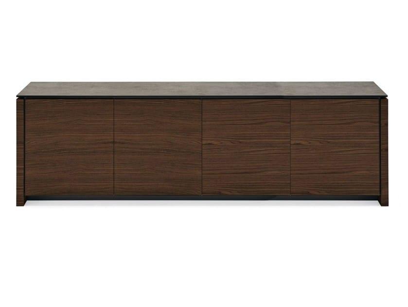 Sideboard with doors MAG | Wood veneer sideboard - Calligaris