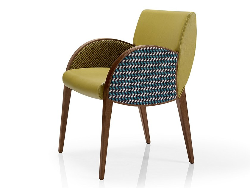 Fabric chair with armrests MAGEE   Chair with armrests by JMS