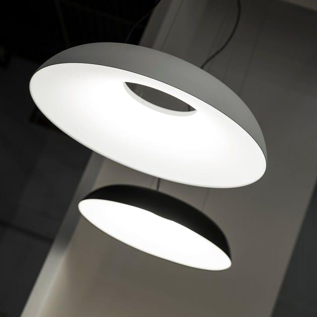 Aluminium pendant lamp MAGGIOLONE | Pendant lamp - Martinelli Luce