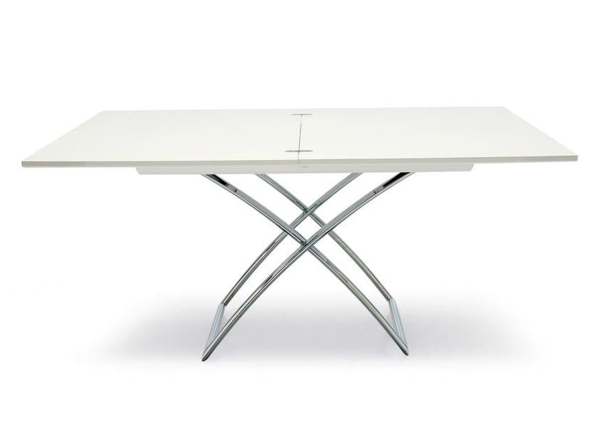 Wood veneer table / coffee table MAGIC-J WOOD - Calligaris