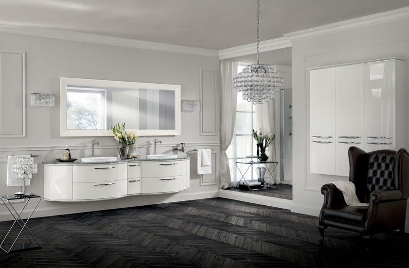 Bathroom furniture set magnifica by scavolini bathrooms for Scavolini prices