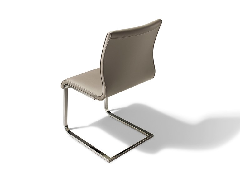 Cantilever leather chair MAGNUM | Leather chair - TEAM 7 Natürlich Wohnen