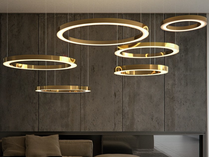 Handmade metal pendant lamp MAHLU - Cameron Design House