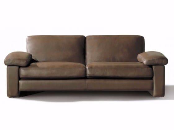 3 seater leather sofa MAILLOL | 3 seater sofa - Canapés Duvivier
