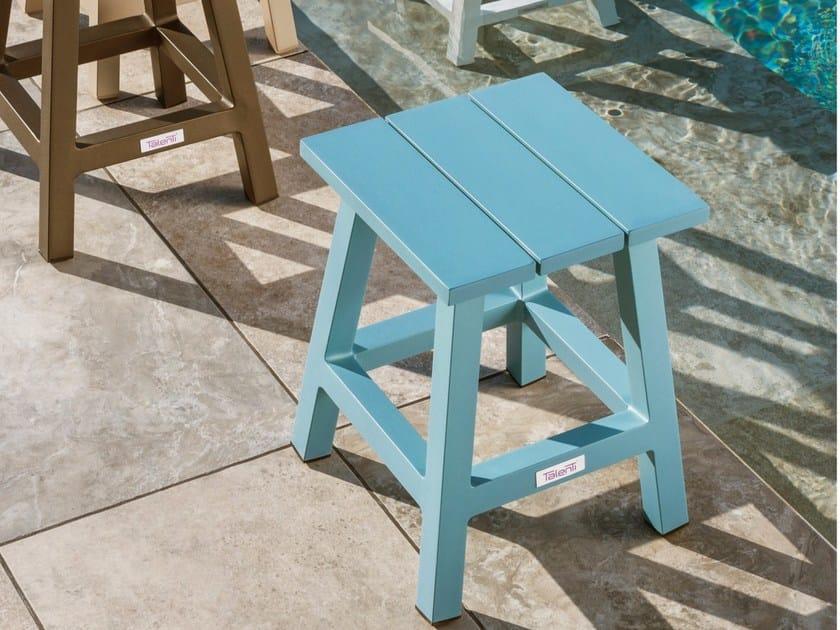 Aluminium garden stool MAIORCA   Stool by Talenti