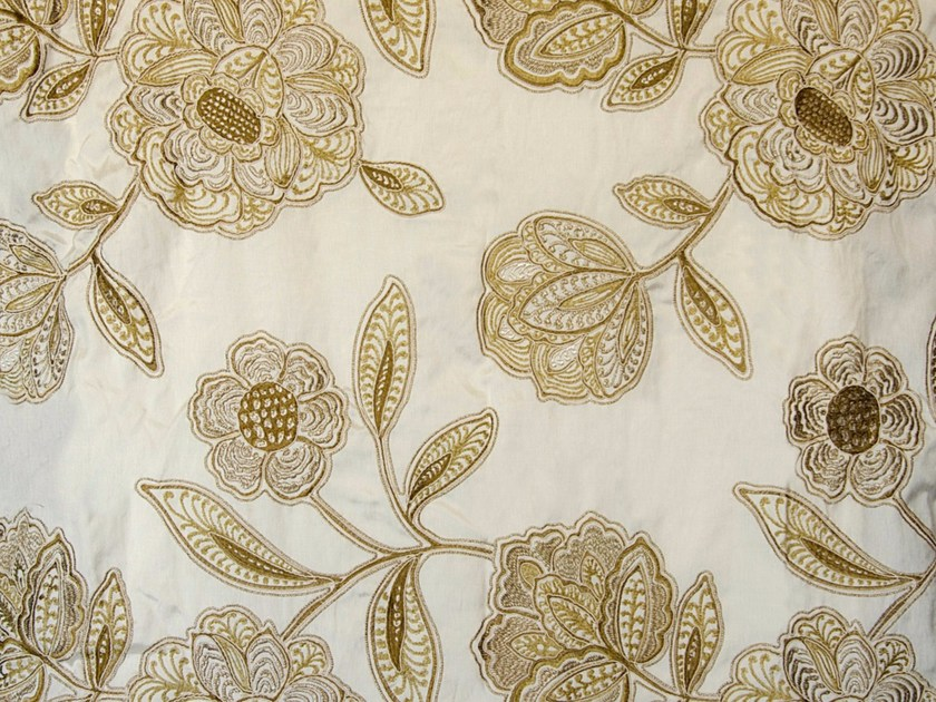 Fabric with floral pattern MAJESTIC by Aldeco