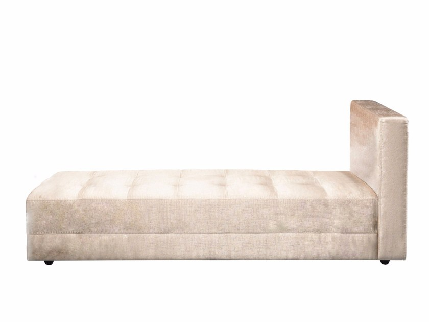 Tufted fabric day bed MALIBU | Day bed - AZEA