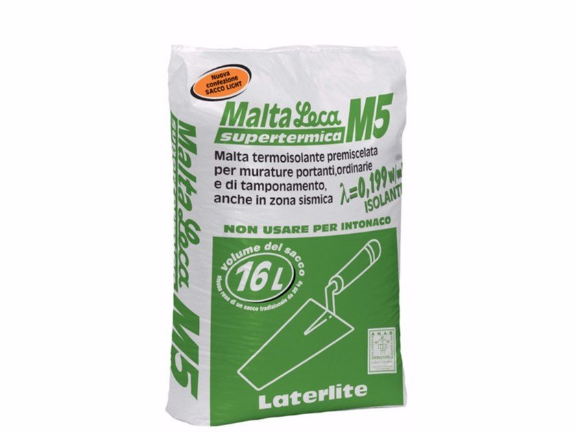 Thermo insulating mortar MALTA LECA M5 - Laterlite
