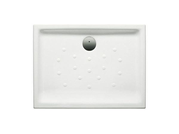 Anti-slip ceramic shower tray MALTA | Rectangular shower tray - ROCA SANITARIO