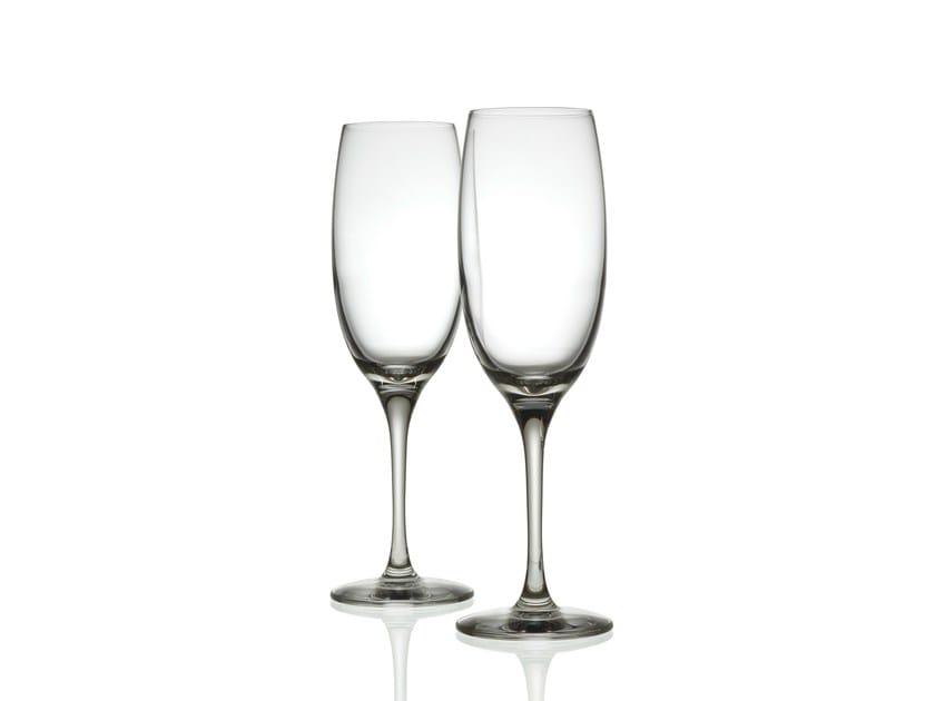 Glass champagne glass MAMI XL | Champagne glass - ALESSI