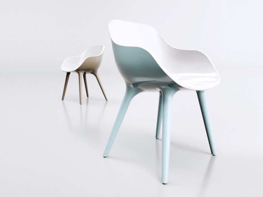 Adamantx® chair with armrests MANÙ - ZAD ITALY