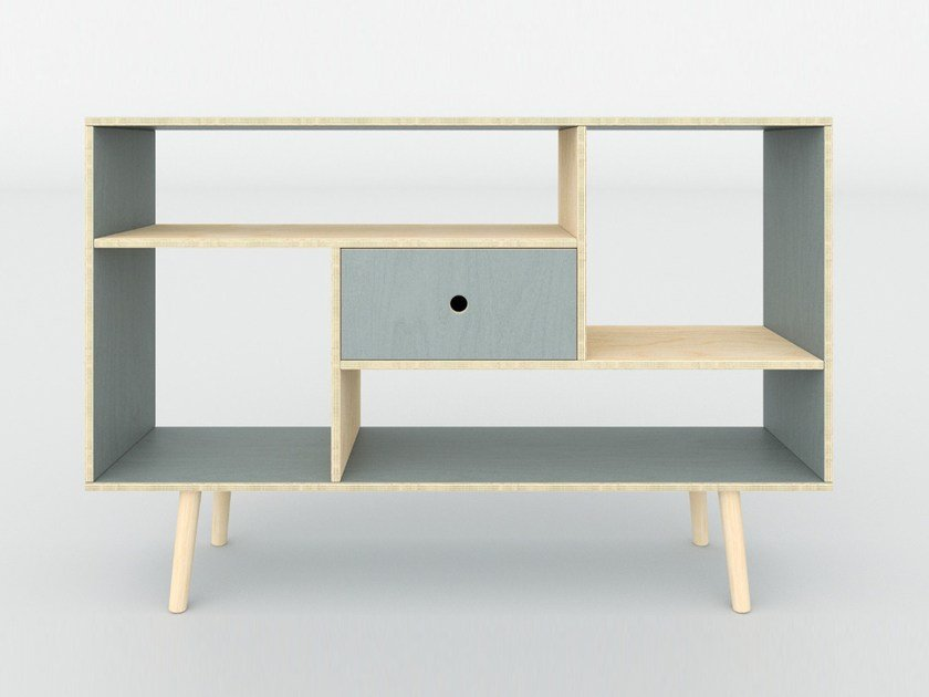Plywood sideboard with drawers MAN | Sideboard with drawers by Radis