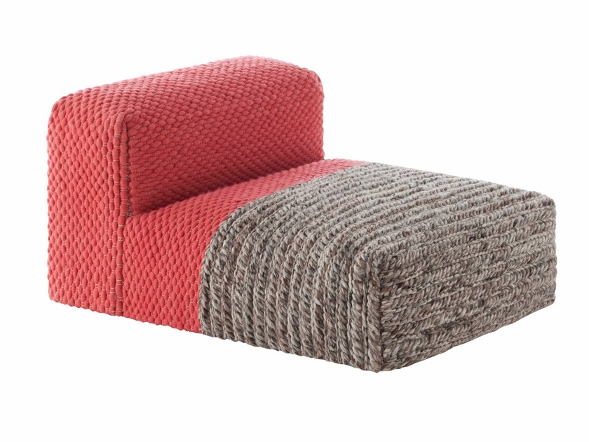 Wool armchair MANGAS SPACES | Armchair - GAN By Gandia Blasco