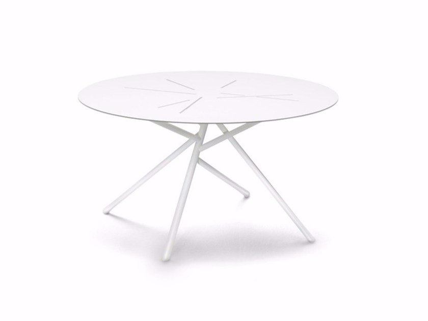 Round garden side table MANGROVE | Coffee table by Dedon