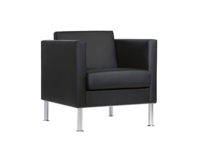 Armchair with armrests MANHATTAN | Armchair - SMV Sitz- und Objektmöbel