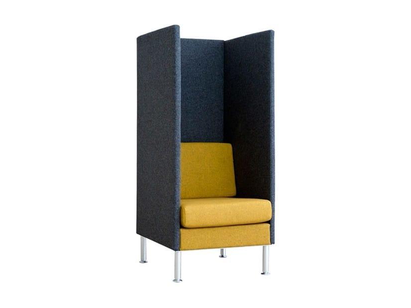 High-back armchair MANHATTAN HIGHBACK | Armchair - SMV Sitz- und Objektmöbel