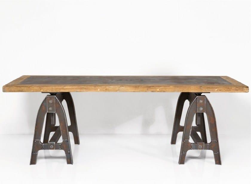 Rectangular wooden table MANUFAKTUR | Table - KARE-DESIGN
