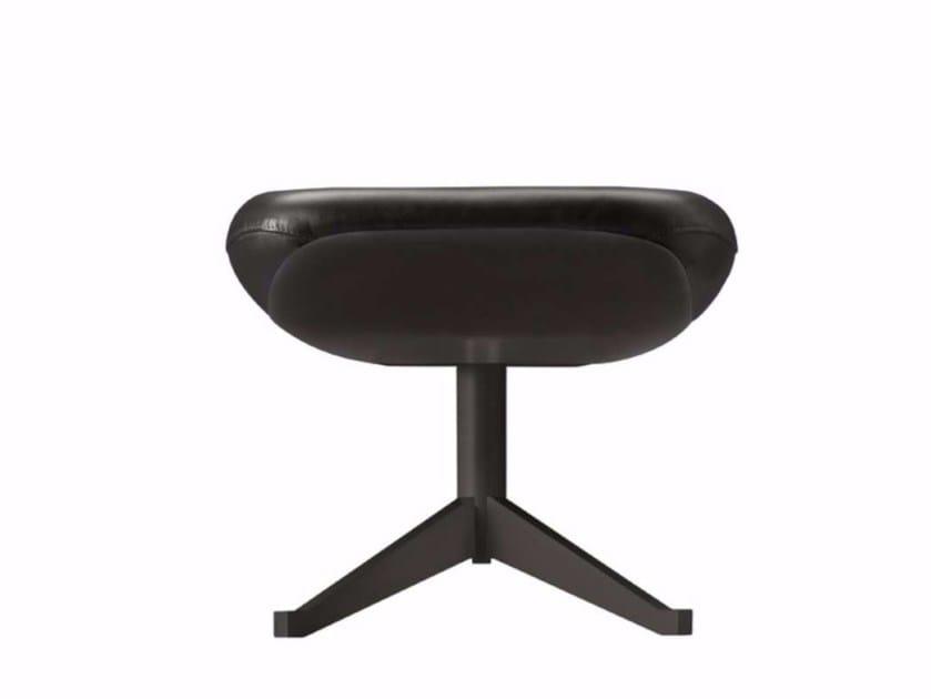 Pouf / footstool MANZÙ BLACK - 091_P - Alias