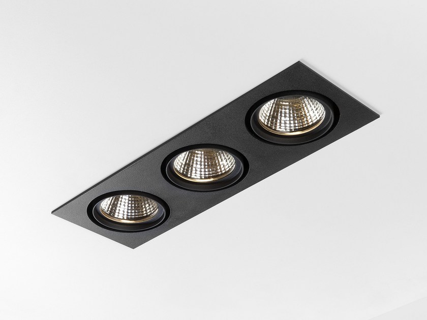 LED multiple recessed spotlight MARCEL - Modular Lighting Instruments