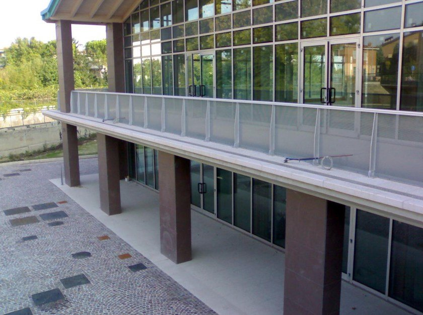 Aluminium Window railing MARCONI - ALUSCALAE