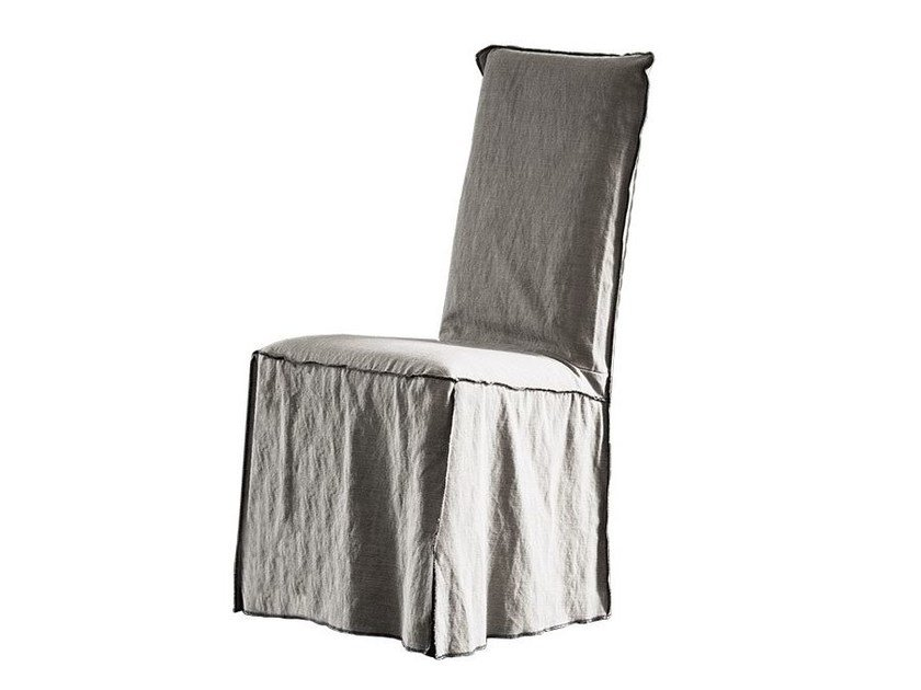 High-back fabric chair MARGHERITA by Chaarme