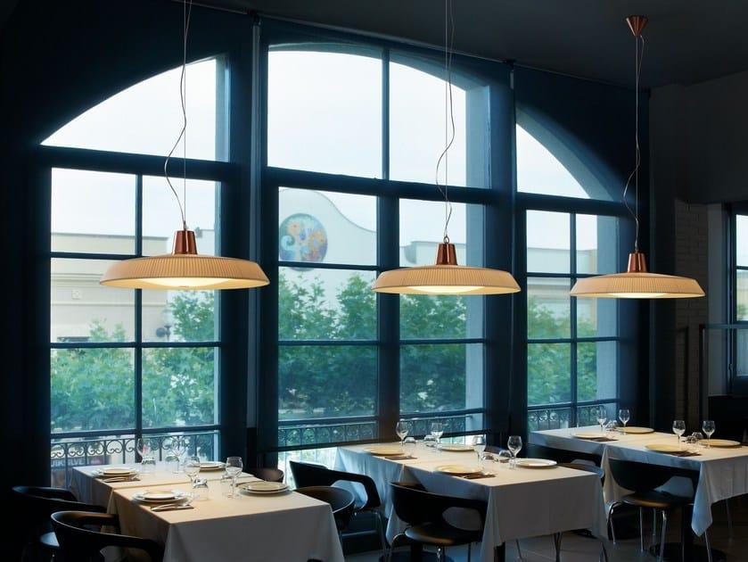 LED polyester pendant lamp MARIETTA - BOVER Il. Luminació & Mobiliario