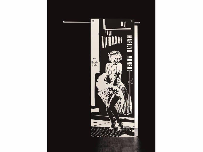Glass sliding door MARILYN MONROE - Casali