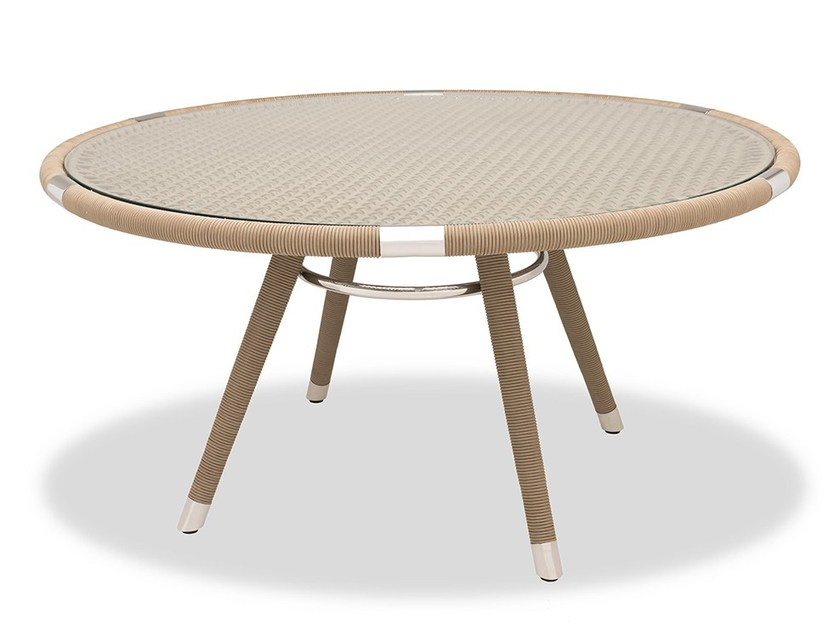 Round Garden Table MARINA | Round Table By INDIAN OCEAN