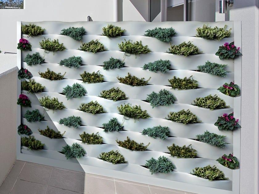 Giardino verticale per esterno marinelli system fils for Giardino verticale