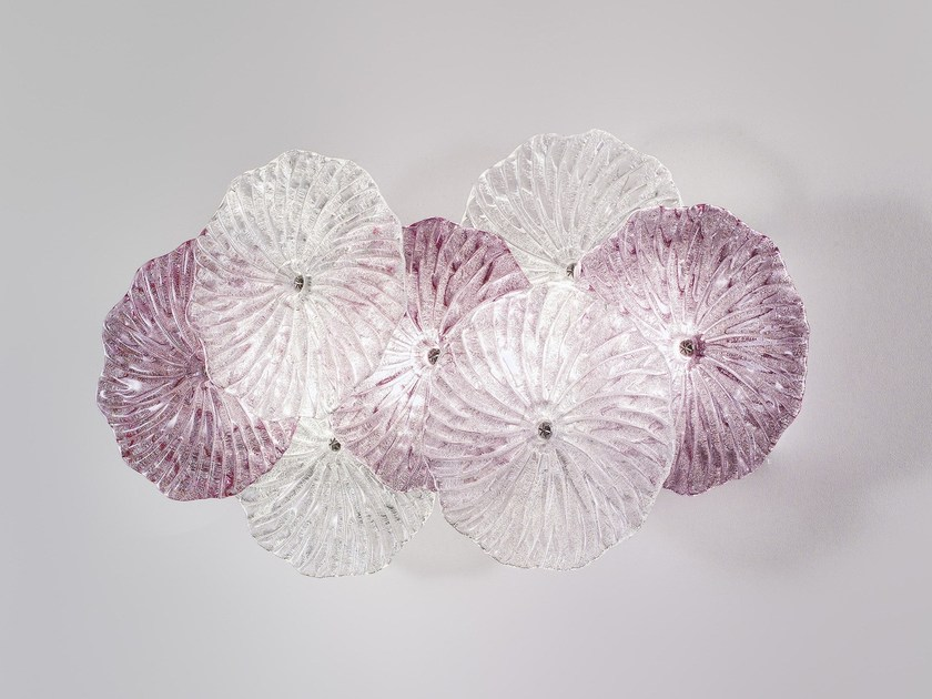 Glass wall lamp MARIPOSA | Wall lamp - Zafferano