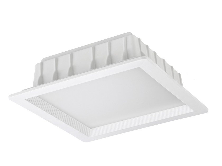 LED square recessed aluminium spotlight MARK - LED BCN Lighting Solutions