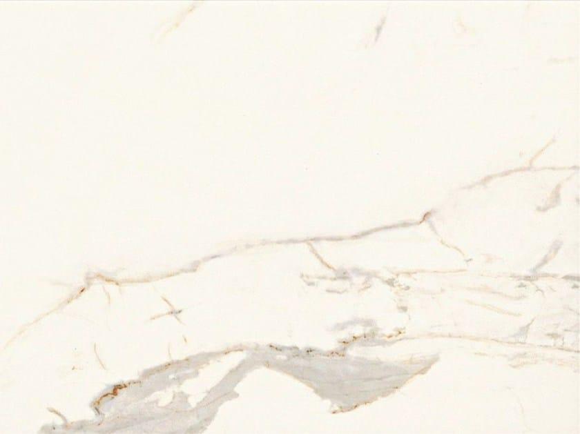 Glazed stoneware flooring with marble effect MARMO D Calacatta - Italgraniti