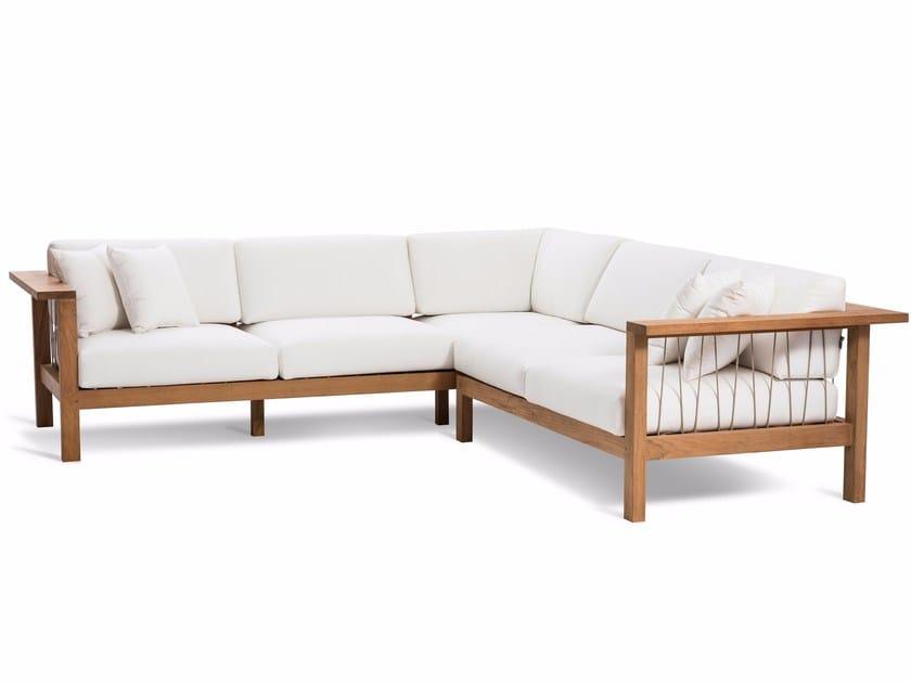 Corner garden sofa MARO | Corner sofa - OASIQ