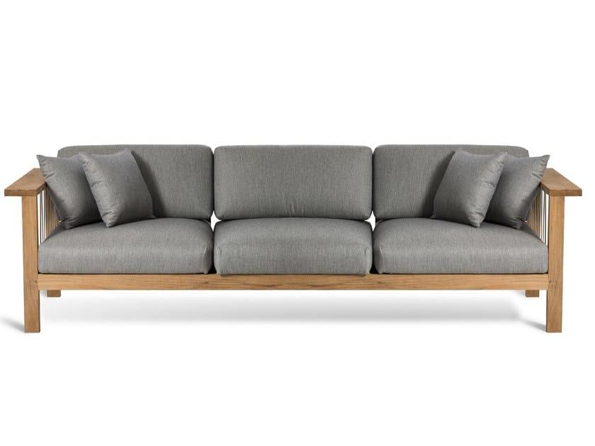 Fabric garden sofa MARO | Garden sofa - OASIQ