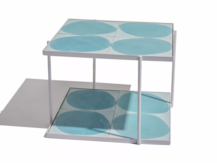 Low square coffee table MARRAKECH | Low coffee table - Skargaarden