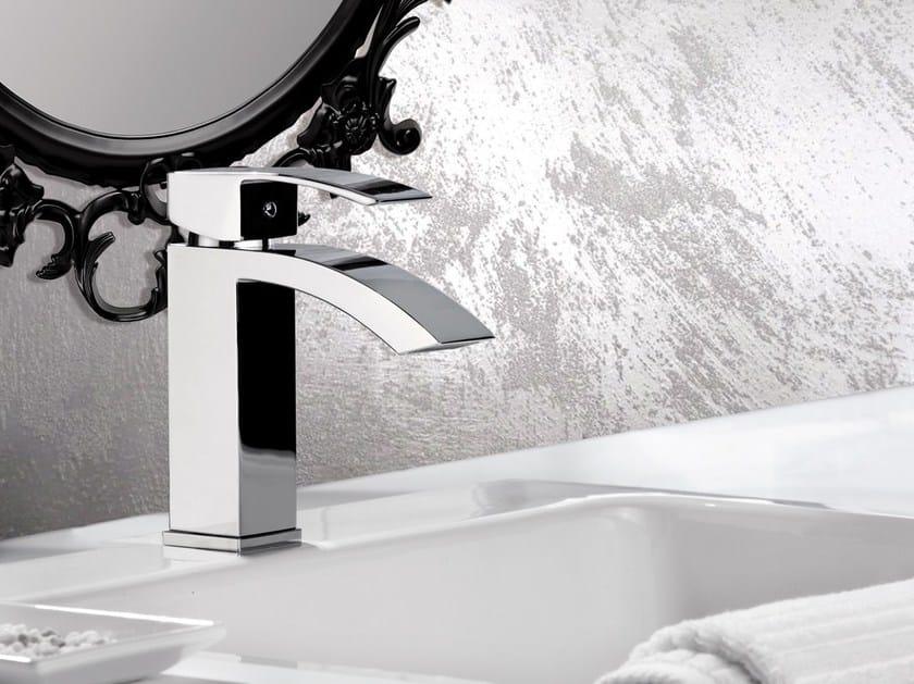 Chrome-plated single handle washbasin mixer MARTE | Washbasin mixer - Rubinetterie Mariani