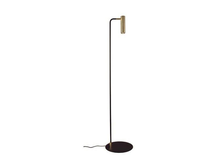 LED adjustable metal floor lamp MARU | LED floor lamp - Aromas del Campo