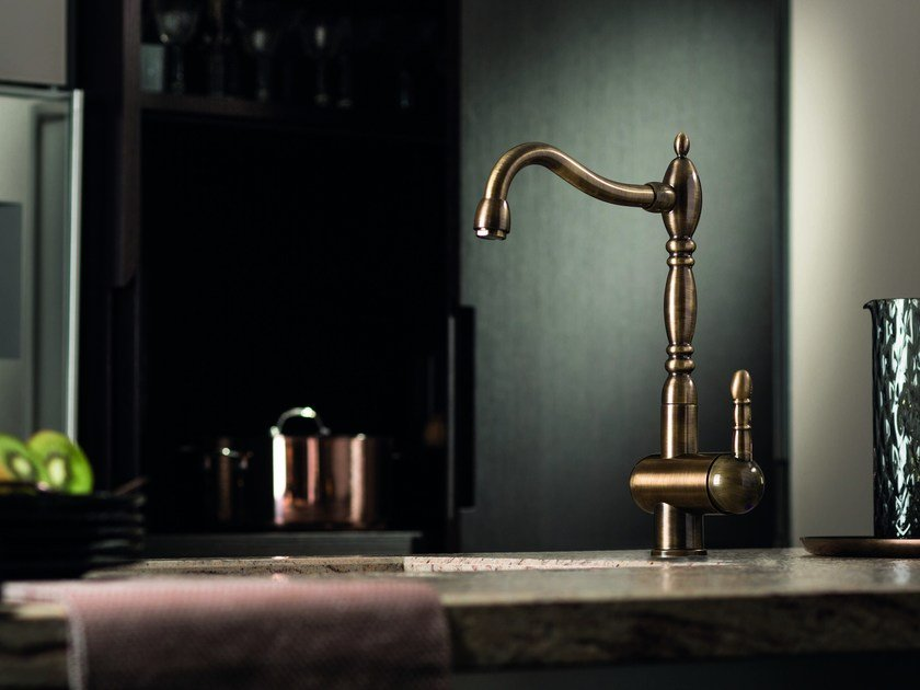 Countertop kitchen mixer tap with swivel spout MARVEL | Kitchen mixer tap - NEWFORM