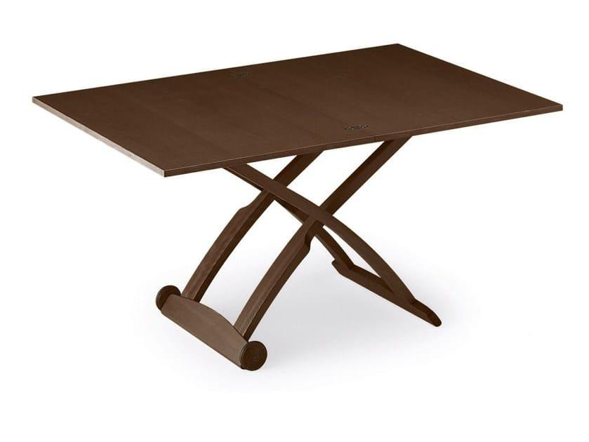 Tavolo ad altezza regolabile con ruote MASCOTTE - Calligaris