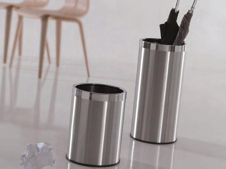 Stainless steel umbrella stand MASTER - Caimi Brevetti