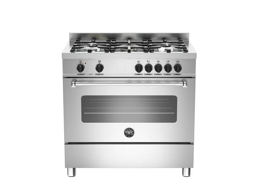 Cucina a libera installazione professionale MASTER - MAS90 5 GEV S XE - Bertazzoni