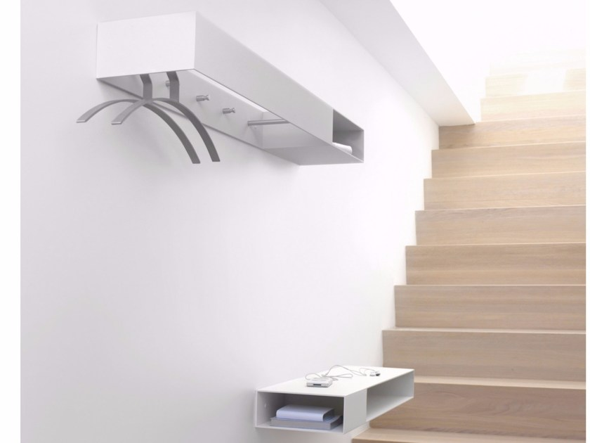 Wall-mounted aluminium coat rack MATCH | Coat rack - Schönbuch