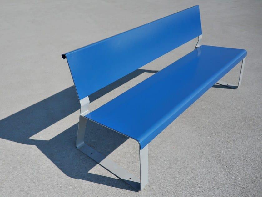 Steel Bench MATKA by LAB23 Gibillero Design