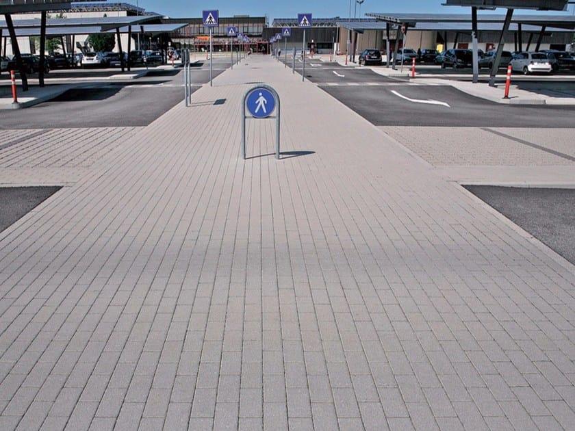 Concrete paving block MATTONE - MICHELETTO PAVIMENTAZIONI