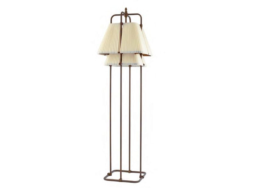 Indirect light fabric floor lamp MAUPITI - Aldo Bernardi
